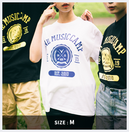 ONE MUSIC CAMP 2019 COLLEGE Tシャツ